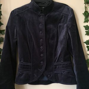 Velvet Victorian style jacket